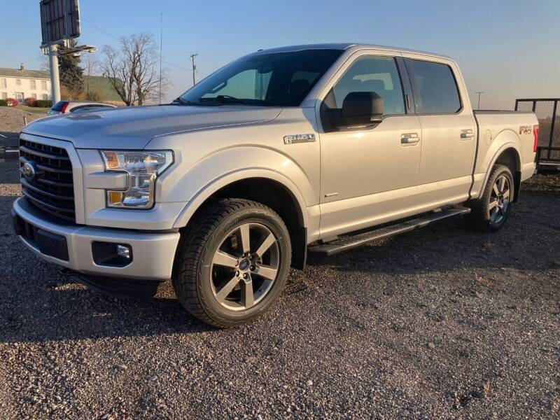 2016 Ford F-150 for sale at Ada Truck Sales in Ada OH
