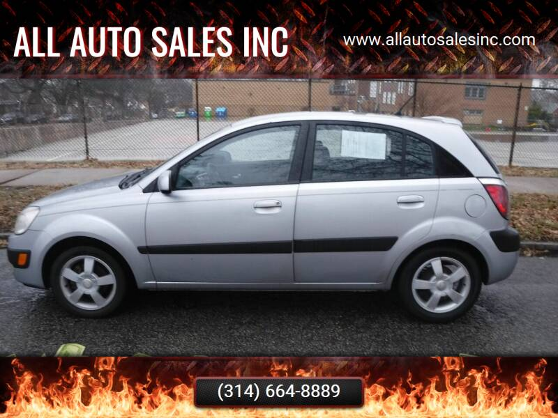 2006 Kia Rio5 for sale at ALL Auto Sales Inc in Saint Louis MO