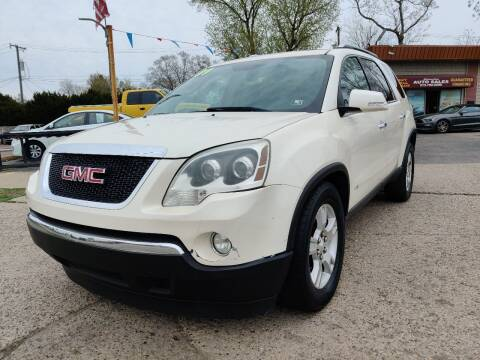 2009 GMC Acadia for sale at Lamarina Auto Sales in Dearborn Heights MI