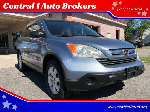 2007 Honda CR-V for sale at Central 1 Auto Brokers in Virginia Beach VA