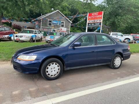 2001 Honda Accord for sale at Korz Auto Farm in Kansas City KS