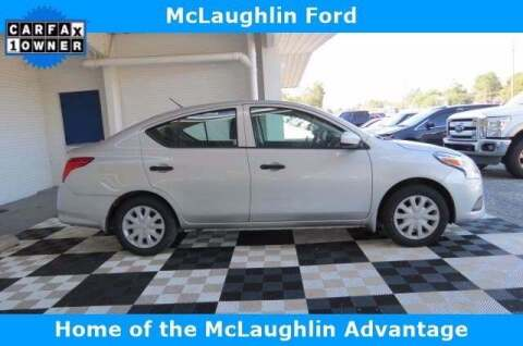 2018 Nissan Versa for sale at McLaughlin Ford in Sumter SC