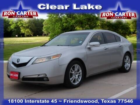 2010 Acura TL for sale at Ron Carter  Clear Lake Used Cars in Houston TX