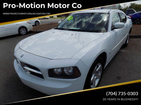 2010 Dodge Charger for sale at Pro-Motion Motor Co in Lincolnton NC
