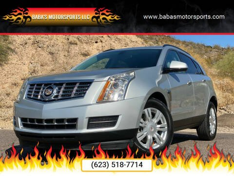 2013 Cadillac SRX for sale at Baba's Motorsports, LLC in Phoenix AZ