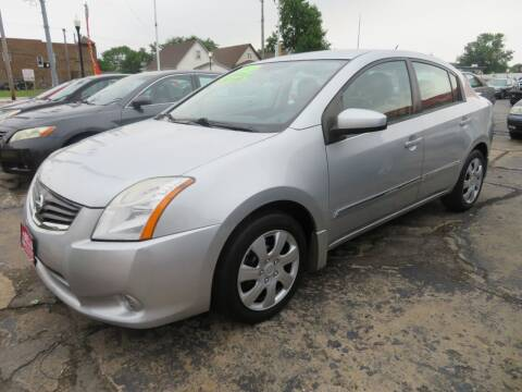 2012 Nissan Sentra for sale at Bells Auto Sales in Hammond IN