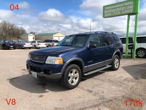 2004 Ford Explorer for sale at Independent Auto in Belle Fourche SD