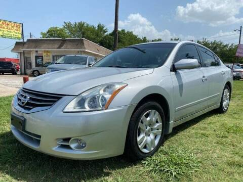 2012 Nissan Altima for sale at Cash Car Outlet in Mckinney TX