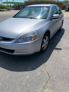 2004 Honda Accord for sale at BRYANT AUTO SALES in Bryant AR