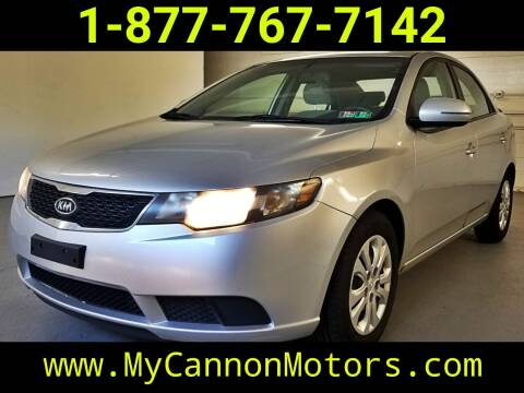 2011 Kia Forte for sale at Cannon Motors in Silverdale PA