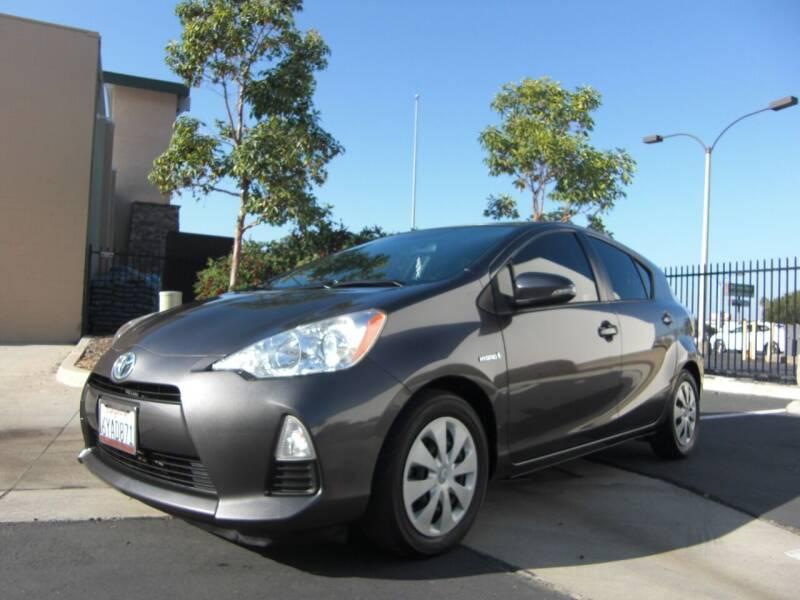 2012 Toyota Prius c for sale at J'S MOTORS in San Diego CA
