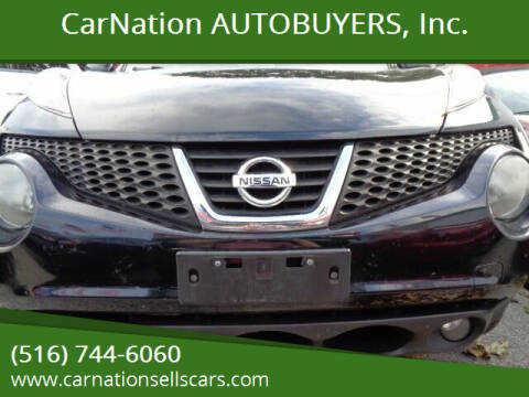 2012 Nissan JUKE for sale at CarNation AUTOBUYERS Inc. in Rockville Centre NY