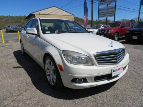 2009 Mercedes-Benz C-Class for sale at Auto Match in Waterbury CT