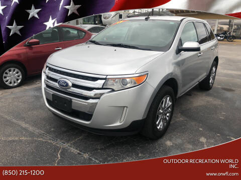 2013 Ford Edge for sale at Outdoor Recreation World Inc. in Panama City FL