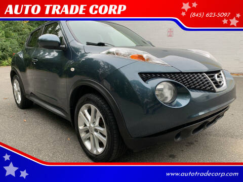 2012 Nissan JUKE for sale at AUTO TRADE CORP in Nanuet NY