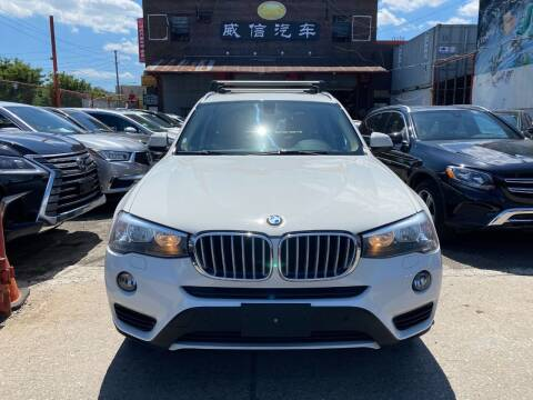 2016 BMW X3 for sale at TJ AUTO in Brooklyn NY