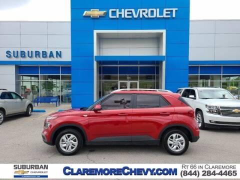 2020 Hyundai Venue for sale at Suburban Chevrolet in Claremore OK