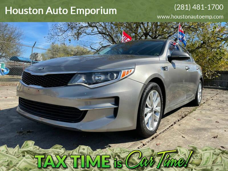 2016 Kia Optima for sale at Houston Auto Emporium in Houston TX