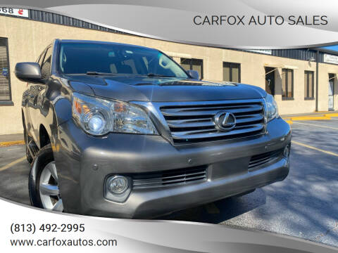 2010 Lexus GX 460 for sale at Carfox Auto Sales in Tampa FL