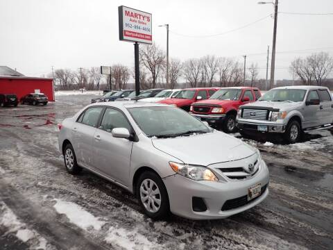 2011 Toyota Corolla for sale at Marty's Auto Sales in Savage MN