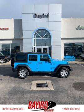 2018 Jeep Wrangler JK Unlimited for sale at Bayird Truck Center in Paragould AR