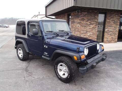 2004 Jeep Wrangler for sale at Dietsch Sales & Svc Inc in Edgerton OH