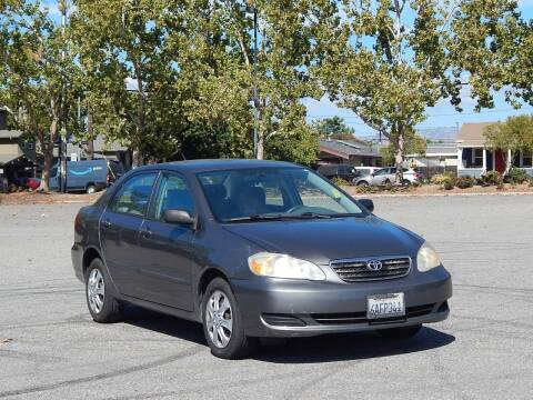 2007 Toyota Corolla for sale at Crow`s Auto Sales in San Jose CA