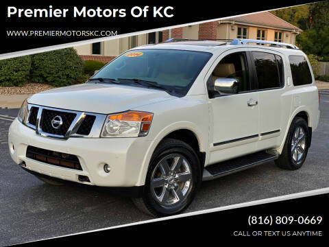 2014 Nissan Armada for sale at Premier Motors of KC in Kansas City MO