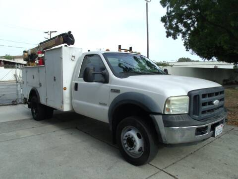 2006 Ford F-550 Super Duty for sale at Hollywood Auto Brokers in Los Angeles CA