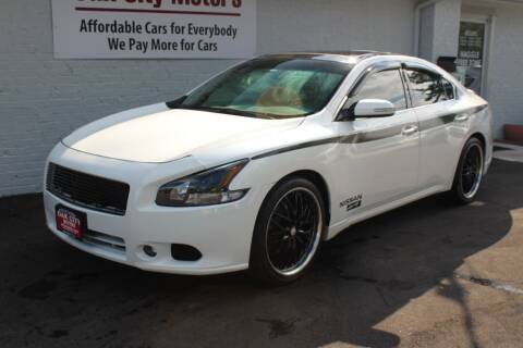 2012 Nissan Maxima for sale at Oak City Motors in Garner NC