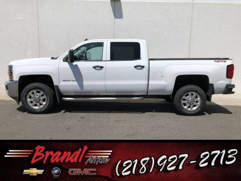 2015 Chevrolet Silverado 2500HD for sale at Brandl GM in Aitkin MN