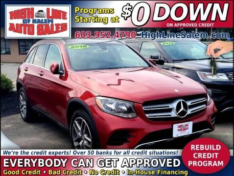 2016 Mercedes-Benz GLC for sale at High Line Auto Sales of Salem in Salem NH