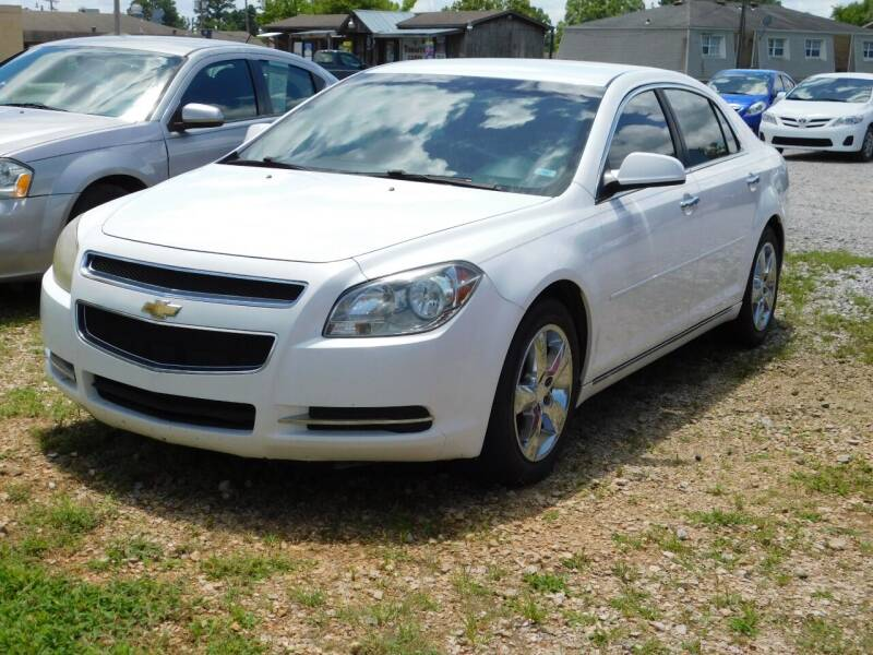 2012 Chevrolet Malibu for sale at National Advance Auto Sales in Florence AL