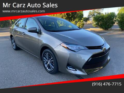 2017 Toyota Corolla for sale at Mr Carz Auto Sales in Sacramento CA