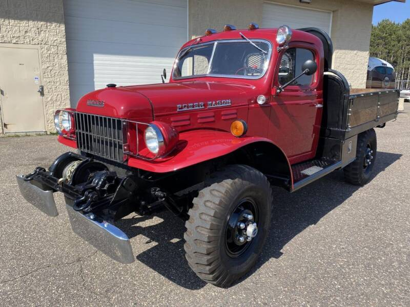 1957 Dodge POWER WAGON for sale at Route 65 Sales & Classics LLC - Classic Cars in Ham Lake MN