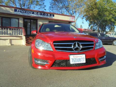 2014 Mercedes-Benz C-Class for sale at Synergy Motors - Nader's Pre-owned in Santa Rosa CA