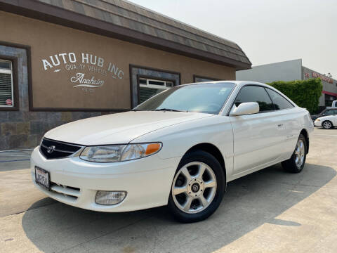 2000 Toyota Camry Solara for sale at Auto Hub, Inc. in Anaheim CA