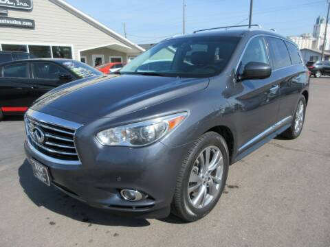 2013 Infiniti JX35 for sale at Dam Auto Sales in Sioux City IA