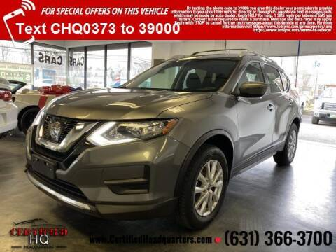 2017 Nissan Rogue for sale at CERTIFIED HEADQUARTERS in St James NY