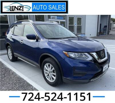 2018 Nissan Rogue for sale at LENZI AUTO SALES in Sarver PA