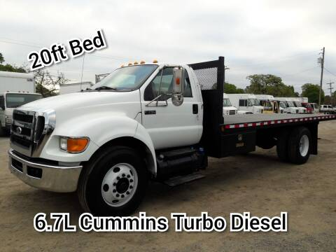 2011 Ford F-750 Super Duty for sale at DOABA Motors in San Jose CA