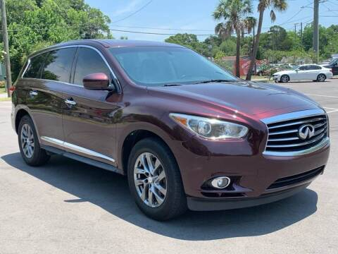2013 Infiniti JX35 for sale at Consumer Auto Credit in Tampa FL
