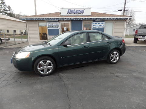 2006 Pontiac G6 for sale at DeLong Auto Group in Tipton IN
