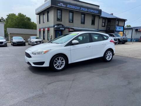 2015 Ford Focus for sale at Sisson Pre-Owned in Uniontown PA