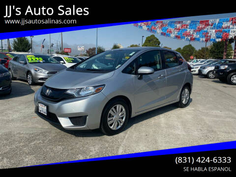 2015 Honda Fit for sale at JJ's Auto Sales in Salinas CA