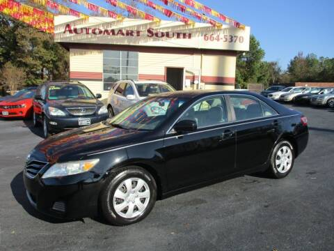 2010 Toyota Camry for sale at Automart South in Alabaster AL
