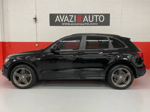 2012 Audi Q5 for sale at AVAZI AUTO GROUP LLC in Gaithersburg MD