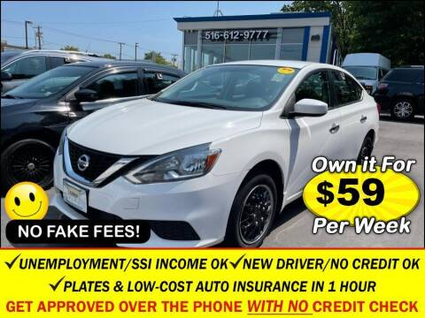 2019 Nissan Sentra for sale at AUTOFYND in Elmont NY
