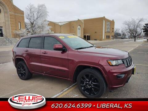 2017 Jeep Grand Cherokee for sale at Lewis Chevrolet Buick Cadillac of Liberal in Liberal KS