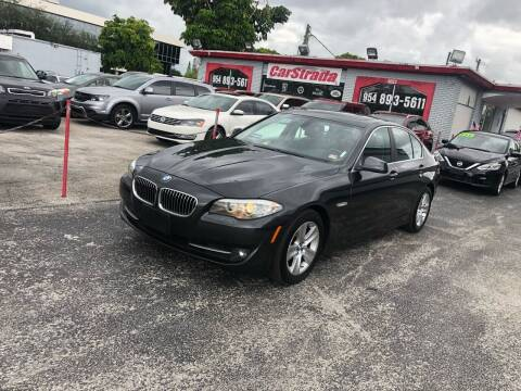2011 BMW 5 Series for sale at CARSTRADA in Hollywood FL